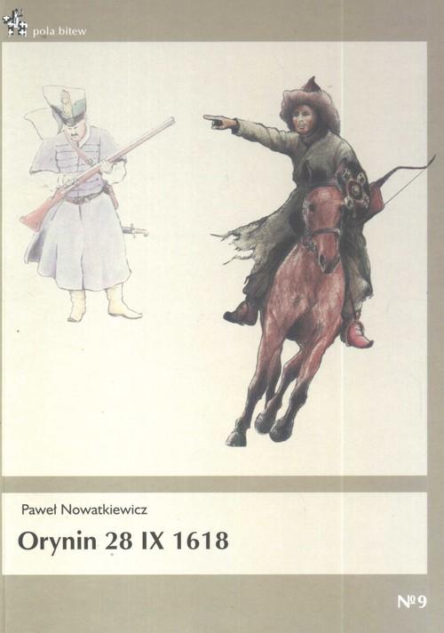 okładka Orynin 28 IX 1618, Książka | Nowatkiewicz Paweł