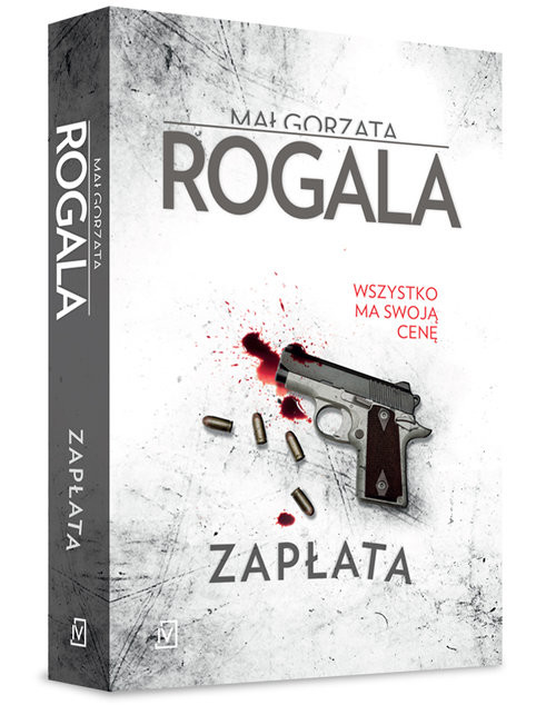 okładka Zapłata, Książka | Rogala Małgorzata
