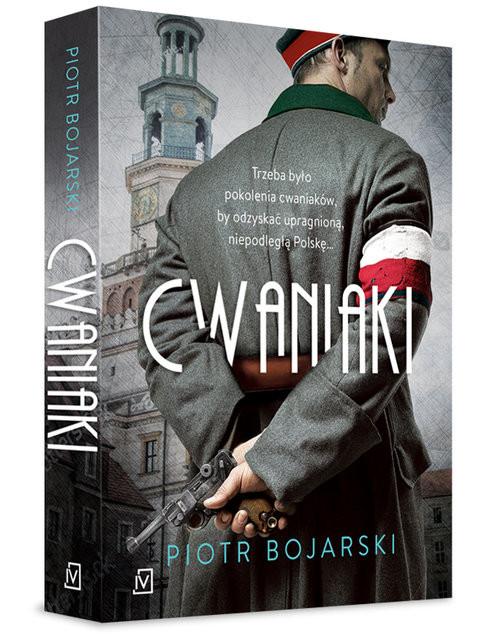okładka Cwaniaki, Książka | Bojarski Piotr
