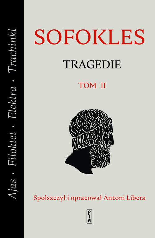 okładka Tragedie. Tom 2: Ajas, Filoktet, Elektra, Trachinki., Książka | Sofokles