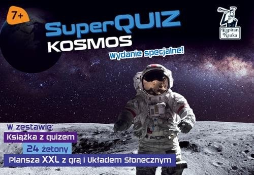 okładka SuperQuiz Kosmos Pakietksiążka      Ratajczak Milena