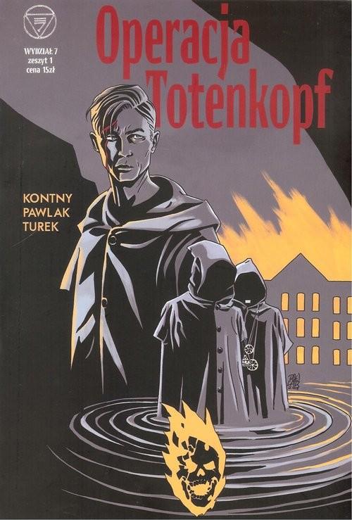 okładka Wydział 7 Operacja Totenkopf  Zeszyt 1, Książka |