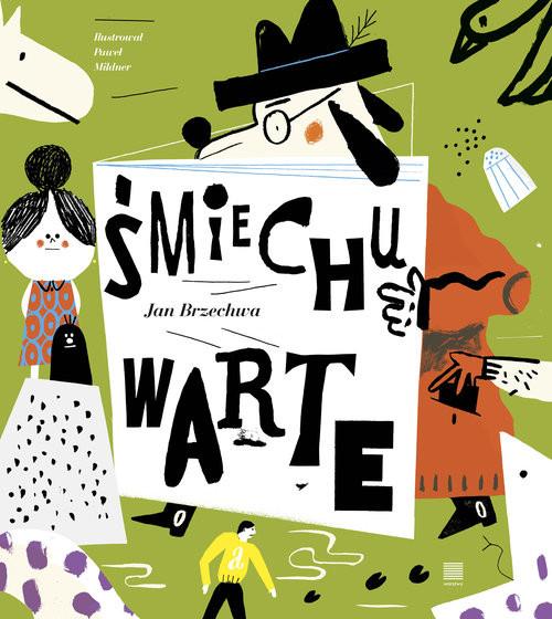 okładka Śmiechu warte, Książka | Brzechwa Jan