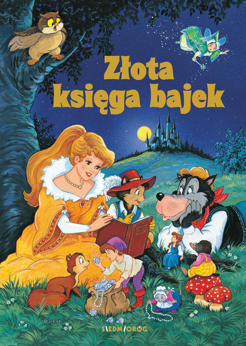 okładka Złota Księga Bajek, Książka | Aleksandra Michałowska