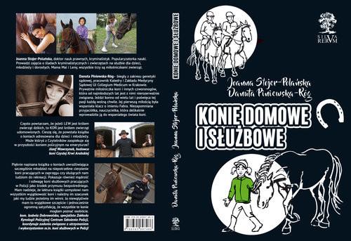 okładka Konie domowe i służbowe /czarno-białe/, Książka | Joanna  Stojer-Polańska, Danuta Piniewska-Róg