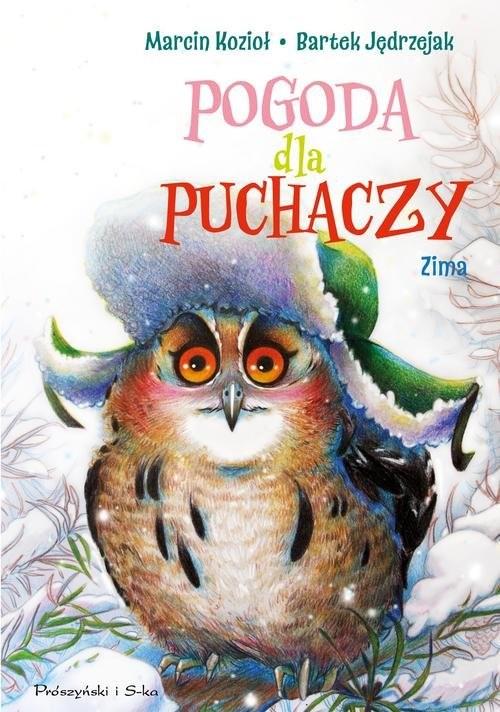 okładka Pogoda dla puchaczy Zima, Książka | Marcin Kozioł, Bartek Jędrzejak