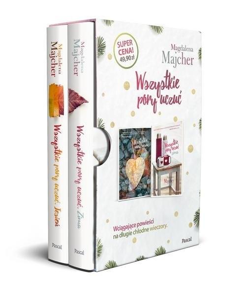 okładka Wszystkie pory uczuć. Jesień / Zima Pakiet:książka |  | Majcher Magdalena