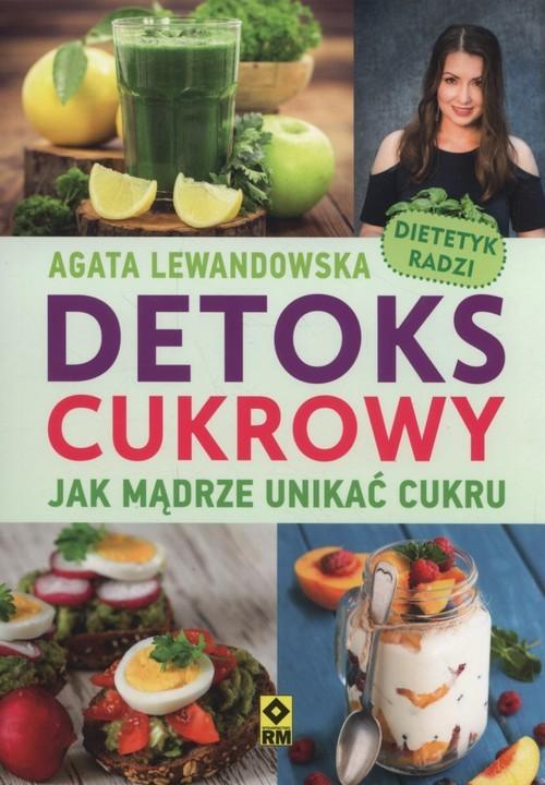okładka Detoks cukrowy, Książka | Lewandowska Agata
