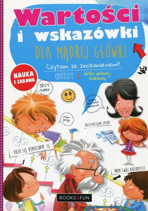 okładka Wartości i wskazówki dla mądrej główkiksiążka |  | Agnieszka Nożyńska-Demianiuk