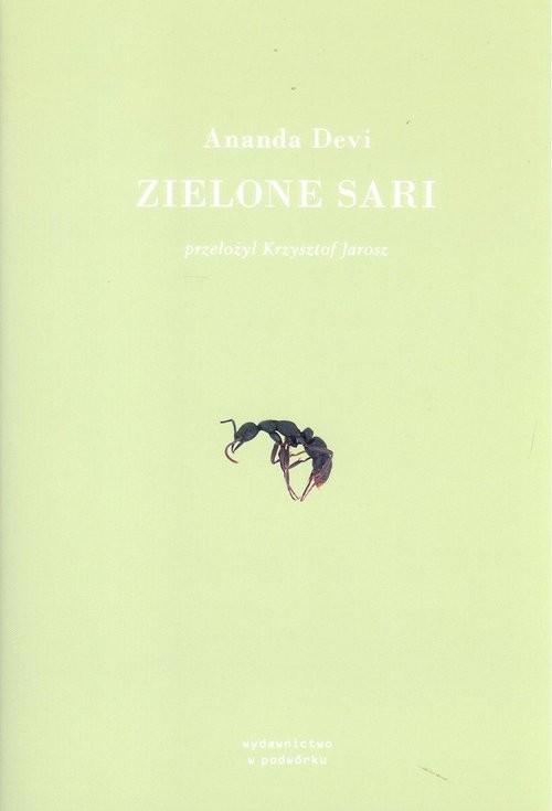 okładka Zielone sari, Książka | Devi Ananda