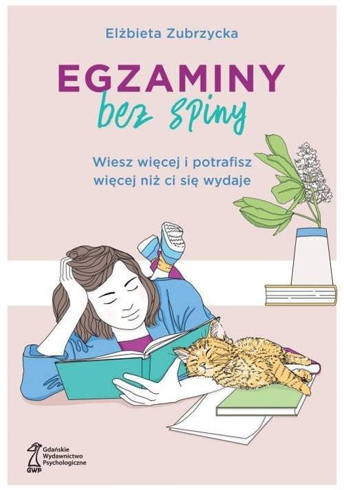 okładka Egzaminy bez spiny, Książka | Zubrzycka Elżbieta