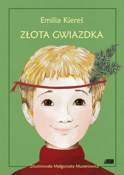 okładka Złota Gwiazdka, Książka | Kiereś Emilia
