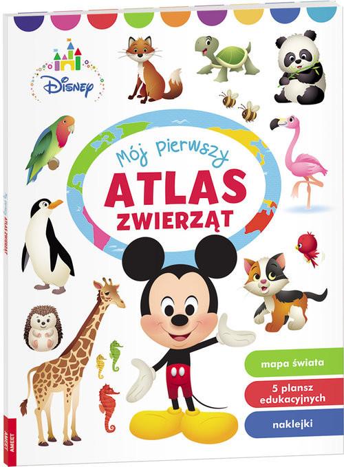 okładka Disney Maluch  Mój Pierwszy Atlas Zwierząt PON-1, Książka |