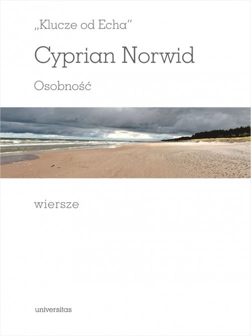 okładka Klucze od echa, Książka | Norwid Cyprian