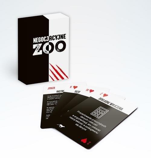 okładka Negocjacyjne zoo (karty) Strategie i techniki negocjacji w pigułce, Książka | Załuski Grzegorz