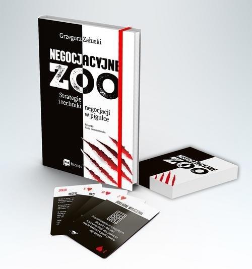 okładka Negocjacyjne zoo (pakiet) Strategie i techniki negocjacji w pigułce, Książka | Załuski Grzegorz