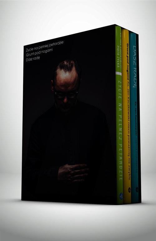 okładka Bestsellery ks. Jana Kaczkowskiego komplet, Książka | Ks. Jan Kaczkowski, Joanna Podsadecka, Piot Żyłka