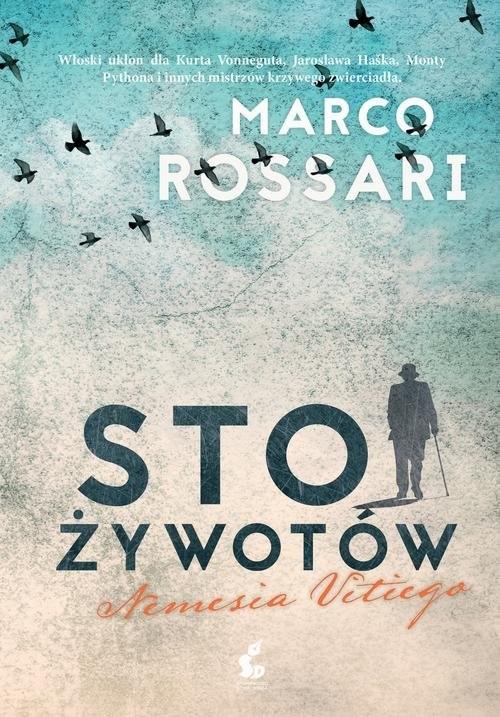 okładka Sto żywotów Nemesia Vitiego, Książka | Rossari Marco