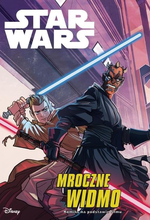 okładka Star Wars Mroczne Widmo, Książka | Alessandro Ferrari, Studio Kawaii Creative, T
