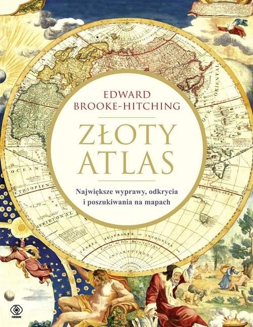 okładka Złoty atlas, Książka | Brooke-Hitching Edward