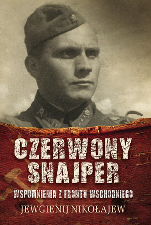 okładka Czerwony snajper, Książka | Nikołajew Jewgienij