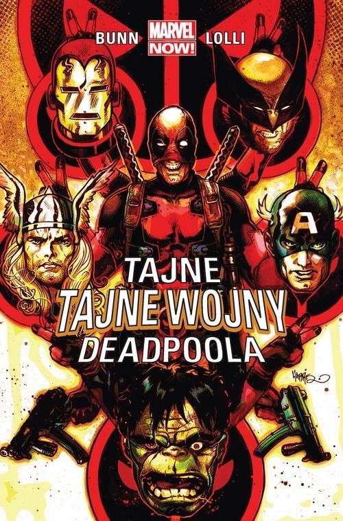 okładka Tajne tajne wojny Deadpoolaksiążka      Bunn Cullen