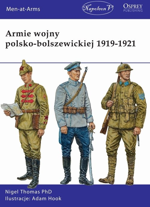 okładka Armie wojny polsko-bolszewickiej 1919-1921, Książka | Nigel Thomas