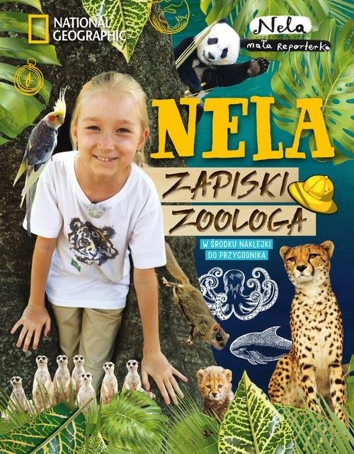 okładka Nela Zapiski zoologaksiążka |  | Reporterka Nela Mała