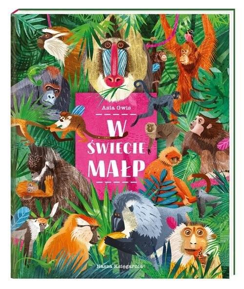 okładka W świecie małp, Książka | Gwis Asia