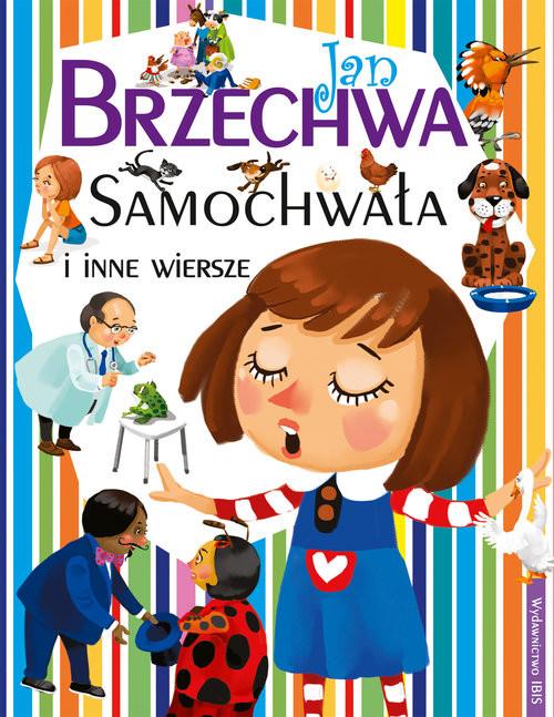 okładka Samochwała i inne wierszeksiążka      Jan Brzechwa