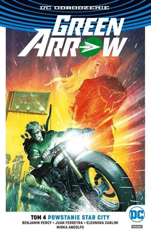 okładka Green Arrow T.4 Powstanie Star City, Książka | Percy Benjamin