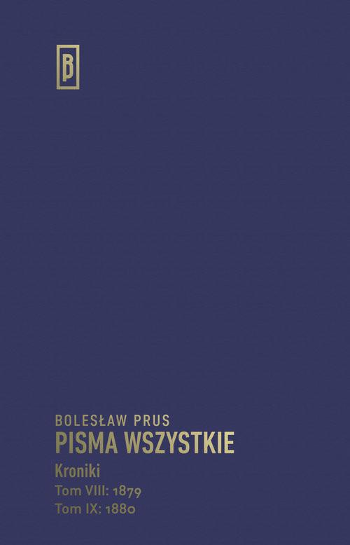 okładka Kronikiksiążka      Bolesław Prus