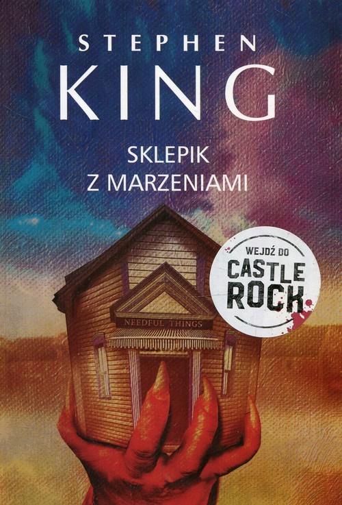 okładka Sklepik z marzeniami, Książka   Stephen King