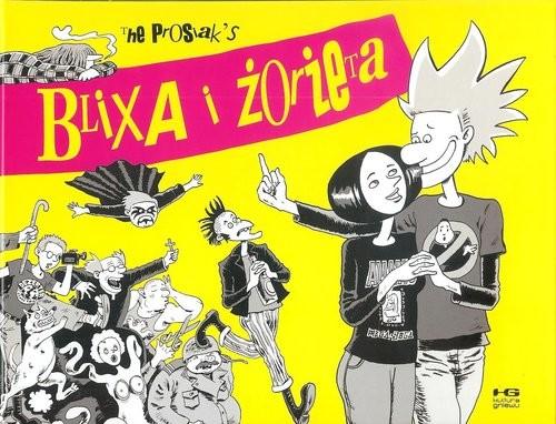 okładka Blixa i Żorżeta, Książka   The Prosiak's