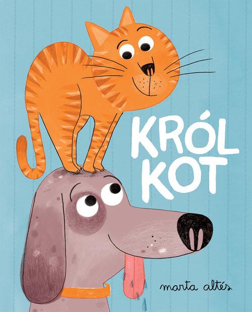 okładka Król kot, Książka | Altes Marta