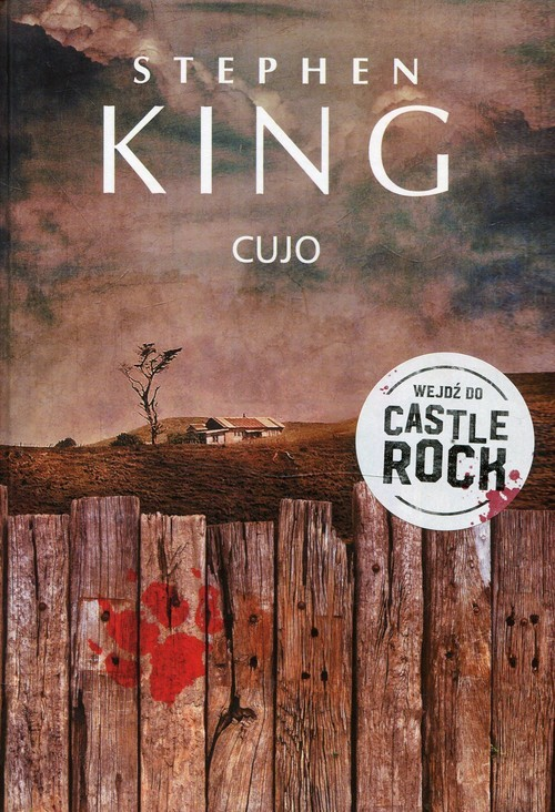 okładka Cujo, Książka | Stephen King