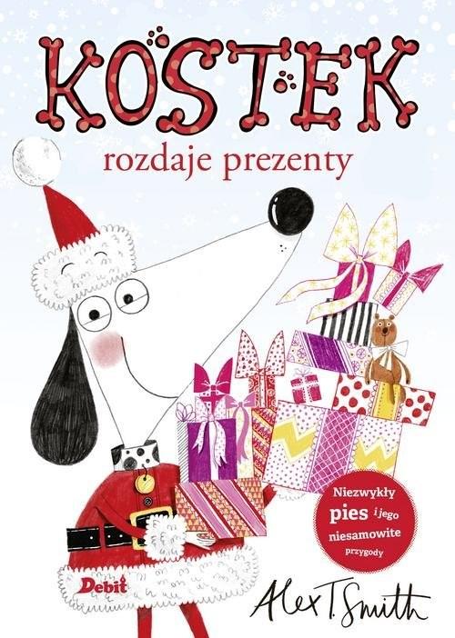 okładka Kostek rozdaje prezenty, Książka | Alex T. Smith