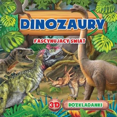 okładka Rozkładanka 3D Dinozaur, Książka | Praca Zbiorowa