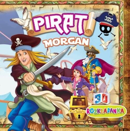 okładka Rozkładanka 3D Pirat Morgan, Książka | Praca Zbiorowa