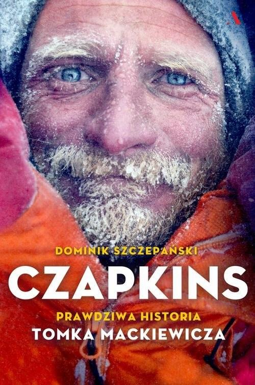 okładka Czapkins Prawdziwa historia Tomka Mackiewicza, Książka | Szczepański Dominik