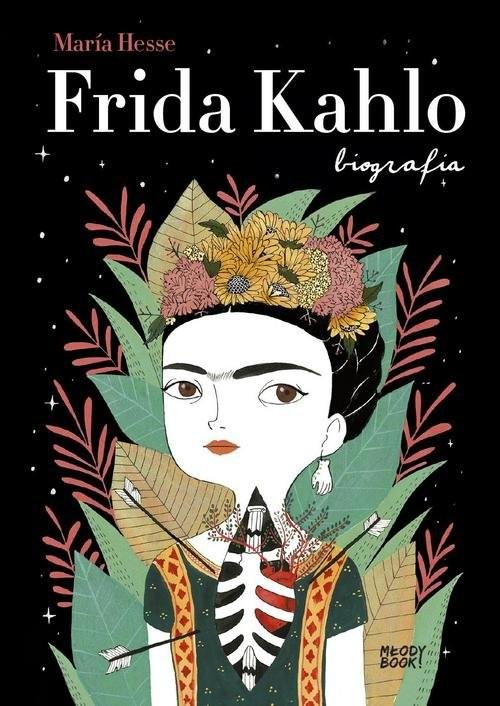 okładka Frida Kahlo Biografia, Książka | Hesse María