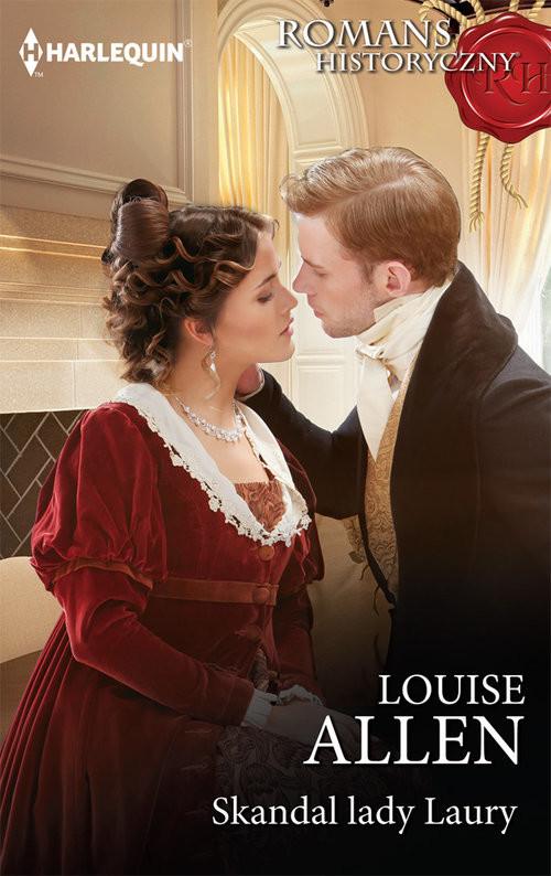 okładka Skandal lady Laury, Książka | Louise Allen