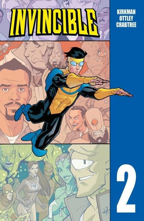 okładka Invincible Tom 2, Książka | Robert Kirkman