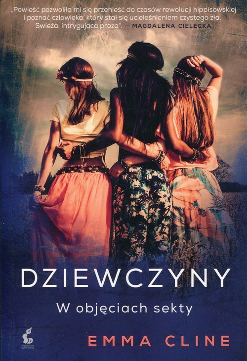 okładka Dziewczyny W objęciach sekty, Książka | Emma Cline