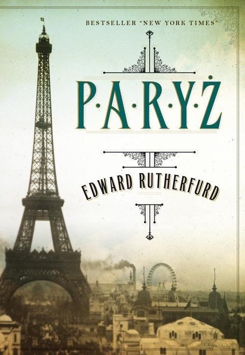 okładka Paryż, Książka | Rutherfurd Edward