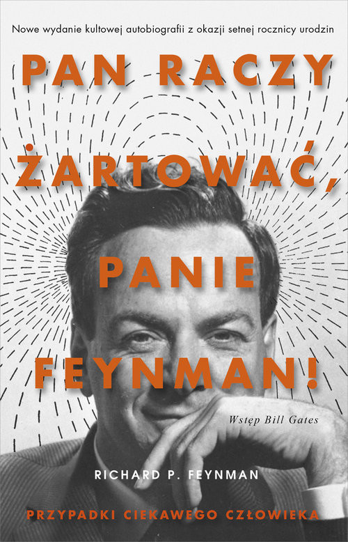okładka Pan raczy żartować Panie Feynman. KsiążkaP. Feynman Richard