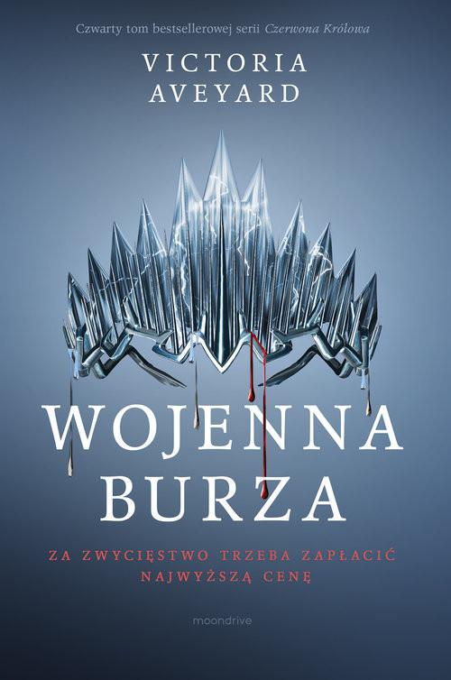 okładka Wojenna burza, Książka   Victoria Aveyard