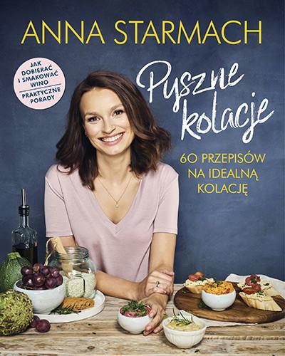 okładka Pyszne kolacje, Książka | Starmach Anna