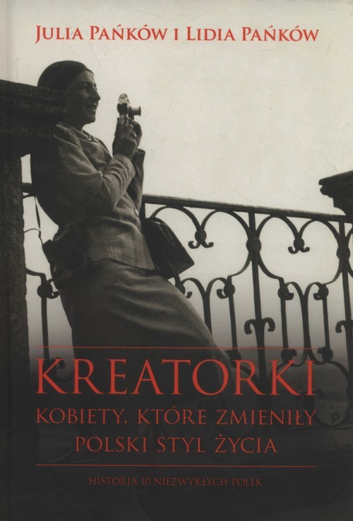 okładka Kreatorki Kobiety, które zmieniły polski styl życia, Książka | Lidia Pańków, Julia Pańków
