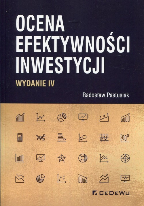 okładka Ocena efektywności inwestycji, Książka | Radosław Pastusiak